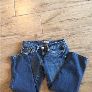 YMI Cropped Jeans size 3